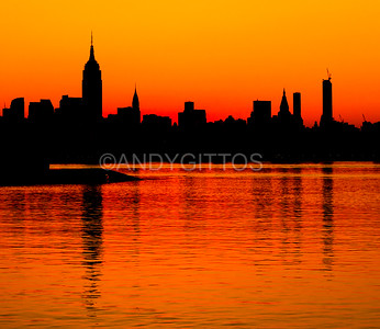 Midtown Manhattan Sunrise