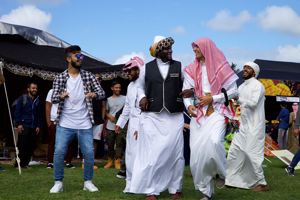 Fun times  at the Saudi Arabia tent of the Auckland Cultural Festival