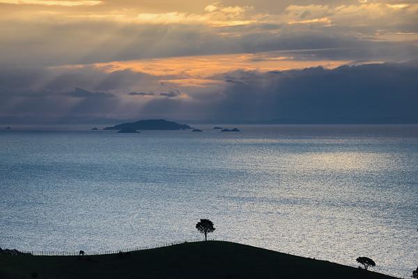 Hauraki Gulf seascape from Waiheke Island
