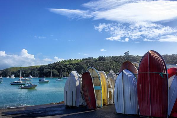 Waiheke Island boats