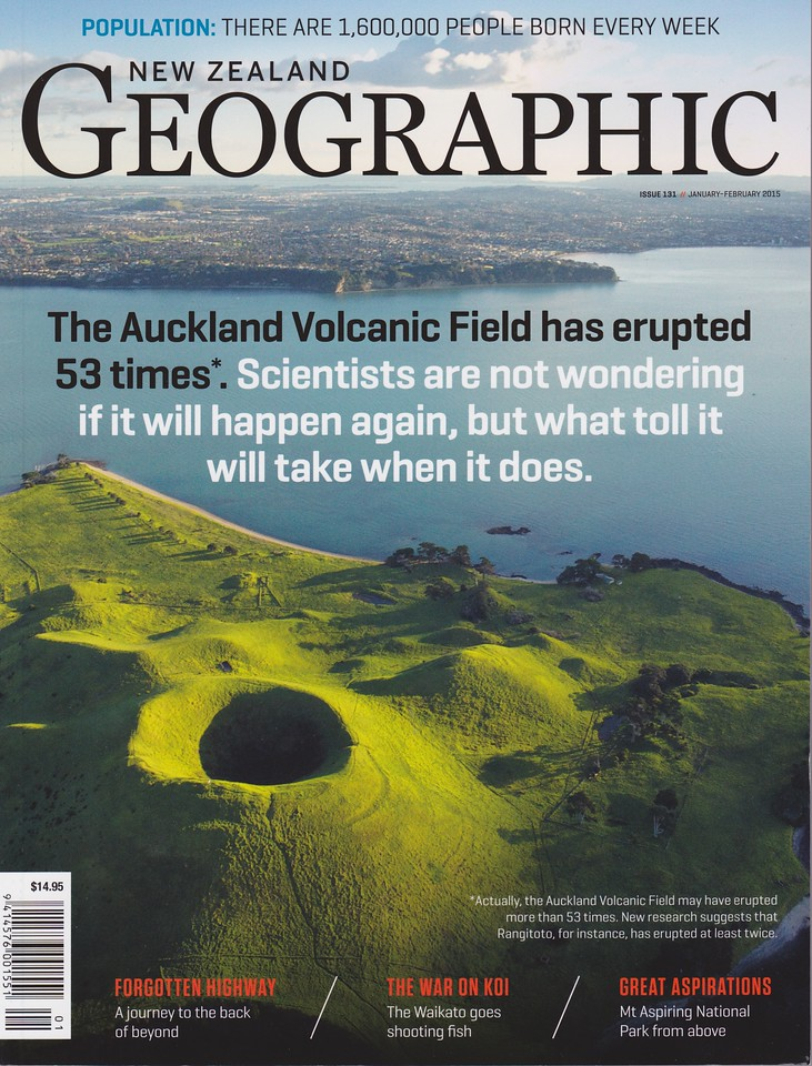 New Zealand Geographic cover