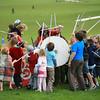 Viking fight, Auckland Domain
