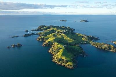 Rakino island in the  Hauraki Gulf