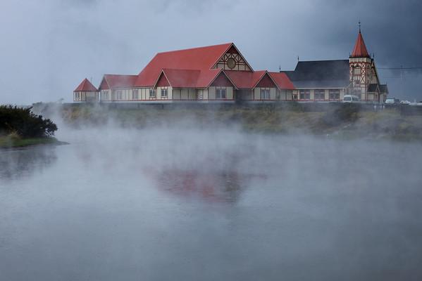 Rotorua steam