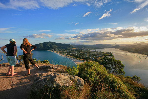 Viewpoint on Mt Paku at Tairua in teh Coromandel