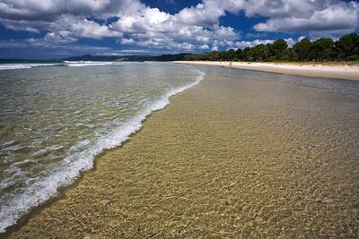 Perfect symmetry at Matarangi beach