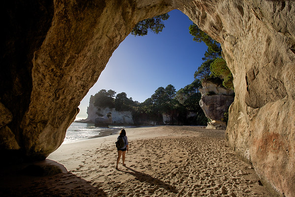 Cave at Cathedral Cove