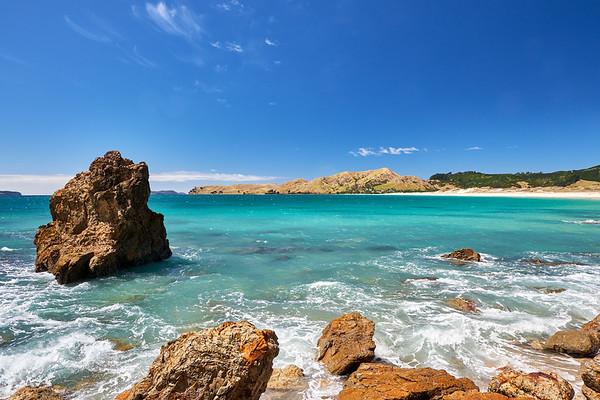 Otama beach on the Coromandel Peninsula in New Zealand's North Island