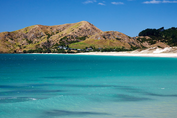 Otama beach on the Coromandel Peninsula in New Zealand's North Island