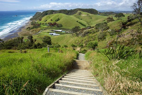 Coastal walkway at Mangawhai Heads