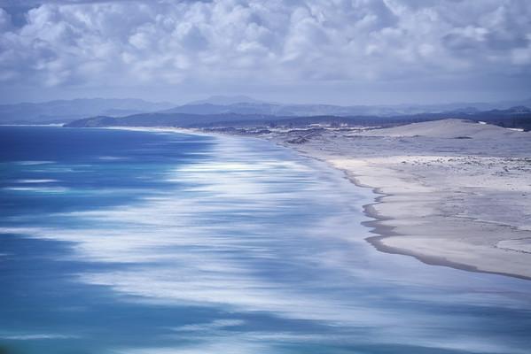 Te Arai Beach from Mangawhai Heads