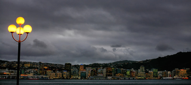 Wellington nightfall