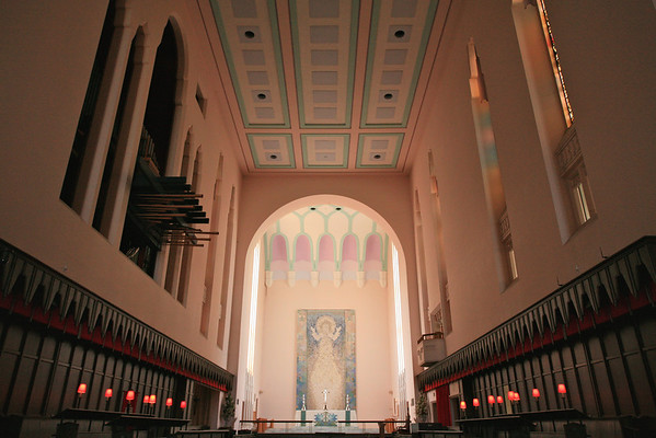 Interior of St Pauls Cathedral, Wellington