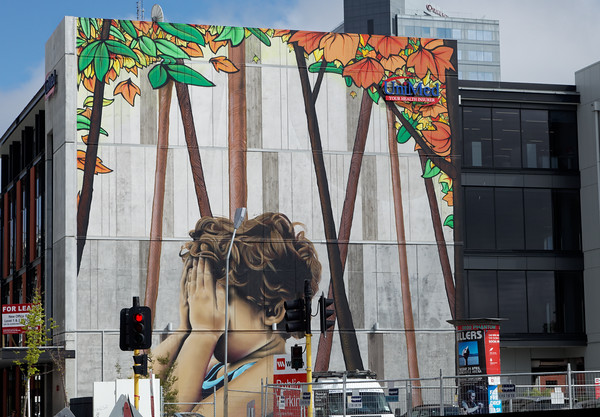 Mural in the Red Zone, Christchurch