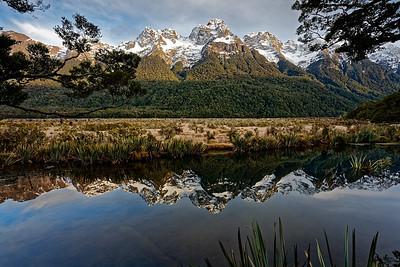 Mirror Lakes, Fiordland National Park