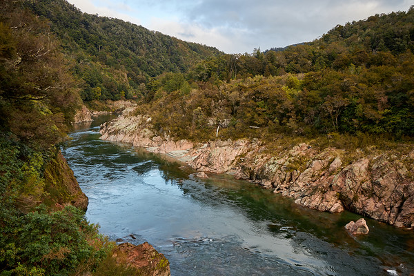 Buller Gorge near Murchison in the South Island