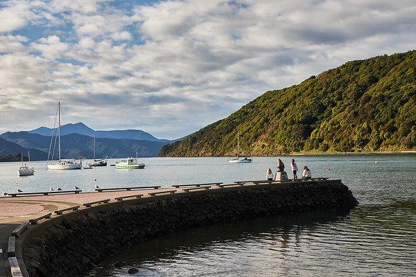 Picton Harbour in Queen Charlotte Sound, Marlborough