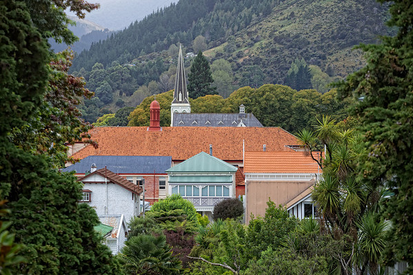Period architecture in the South Island city of Nelson