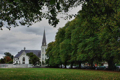 Nelson church HDR
