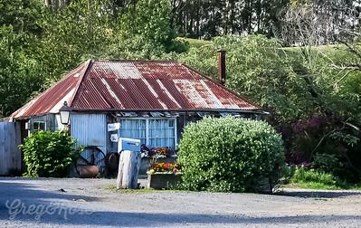 Blacksmith shop in the far North