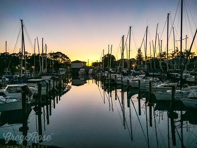 Marina at Sunrise