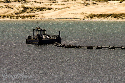 Restoration sand Dredge Mangawhai