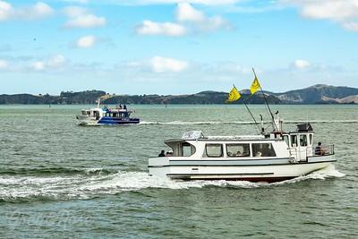 Two Ferries Crossing