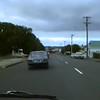Driving Down Kamo Road Toward The Regent Shops. 1993
