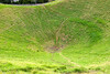 Looking down in the crater of Mount Eden. (3 of 74)