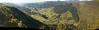 Riwaka River valley from Hawkes Lookout, north of Motueka