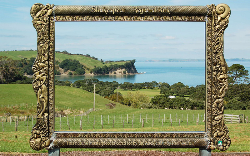 First day out: Shakespear park north of Auckland.