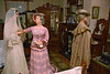 Kauri Museum: Diorama of settler life, mannequins from real descendants of settlers
