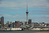 Passing central Auckland and Sky Tower