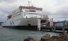 Boarding Interislander, bound for South Island
