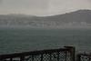 Goodby Wellington in the rain