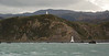 Lighthouses at mouth of Wellington Harbour
