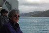 It is very very windy on deck