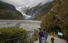 Start of walk to Franz Josef