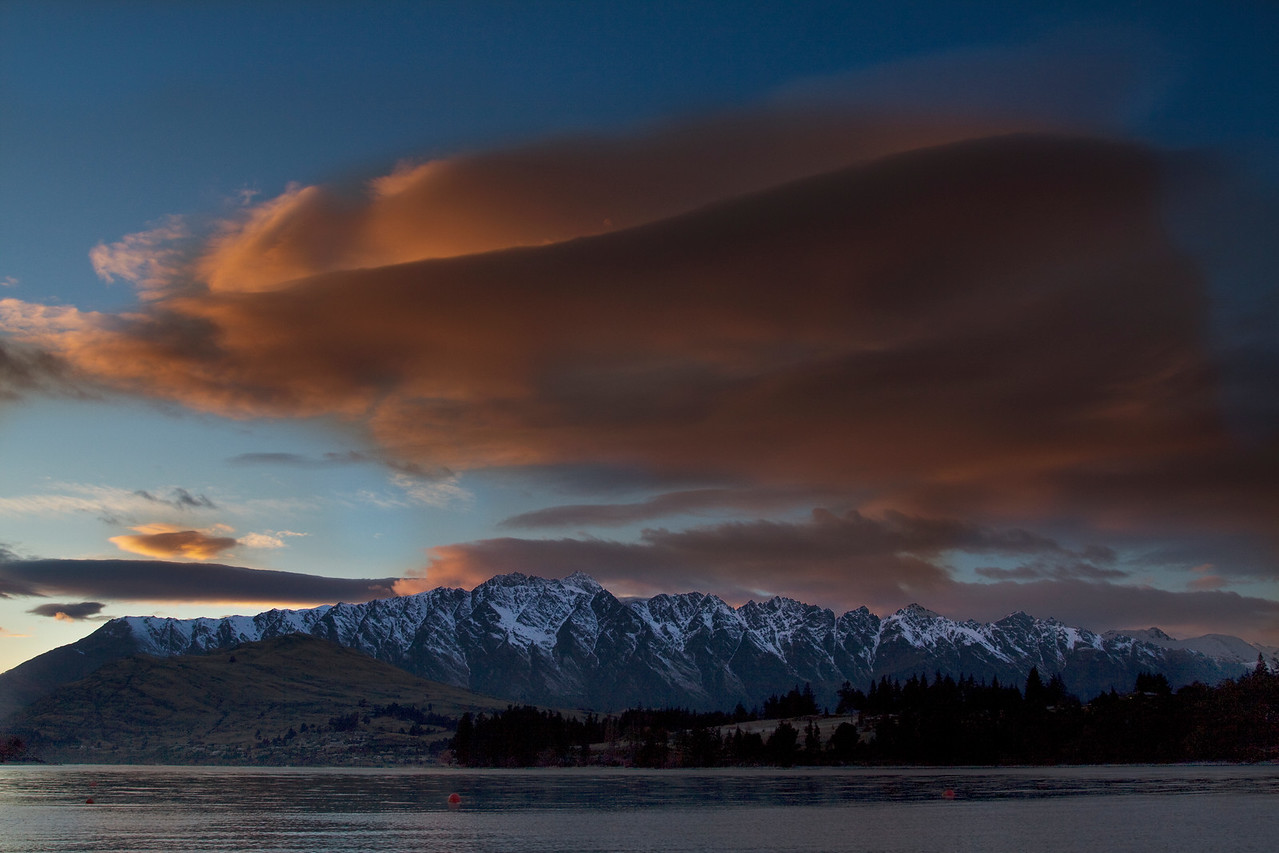 Rosy Fingered Dawn Over the Remarkables<br /> Lake Wakatipu, New Zealand