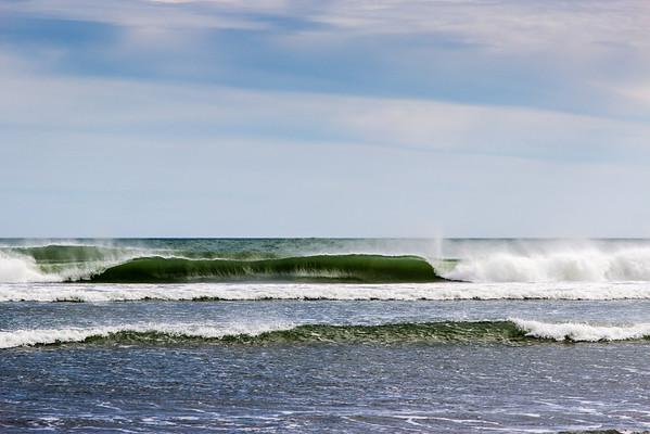 Waves on Piha Beach