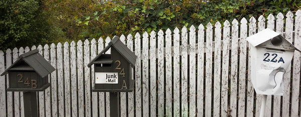 Napier mail boxes.