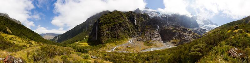 Rob Roy Glacier - panorama 2