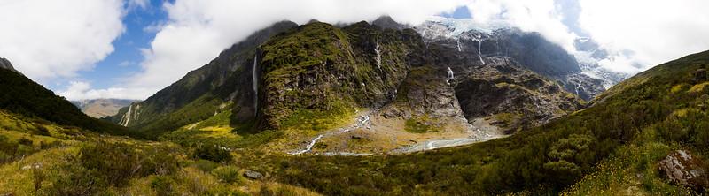 Rob Roy Glacier - panorama 1