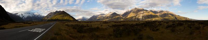 Aoraki Mount Cook - panorama 1