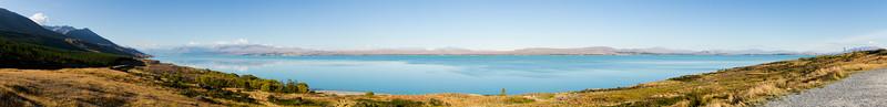 Lake Pukaki - panorama 1