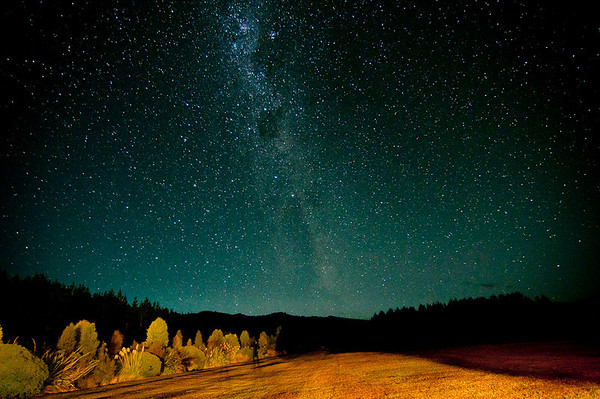 The Milky Way from Poronui