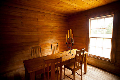 Interior of the Red Hut at Poronui