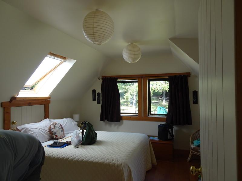 Our room at Wairau River B&B