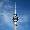 Sky Tower on a sunny day - Auckland, New Zealand