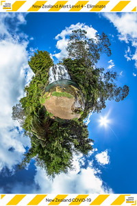 New Zealand Alert Level 4 - Eliminate - © ChristianKleiman.com